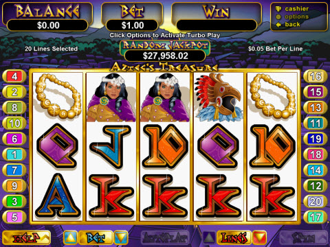 Aztec's Treasure Video Slot Preview