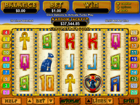 Cleopatras Gold Video Slot Preview