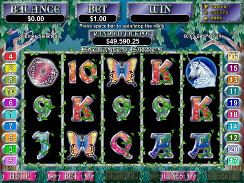 Enchanted Garden Video Slot Preview