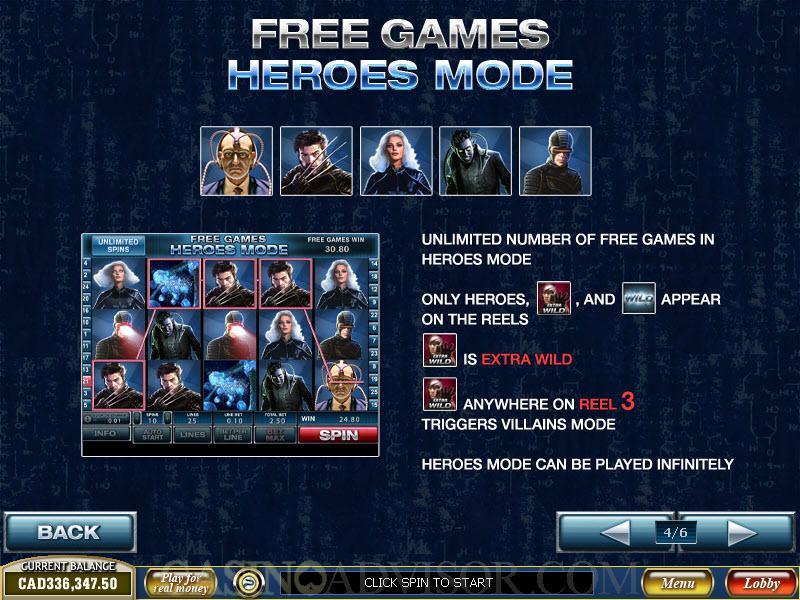 Слот-Автомат X-Men