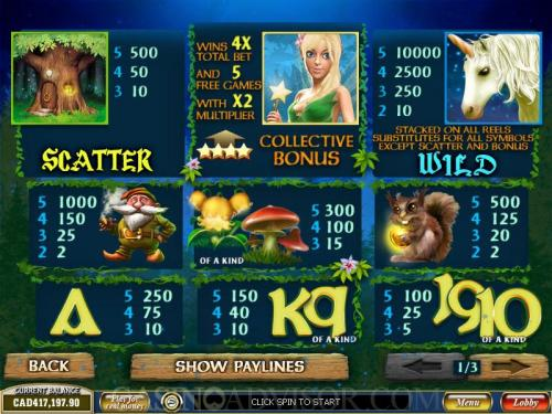 Play Fairy Magic Online Slots at Casino.com UK