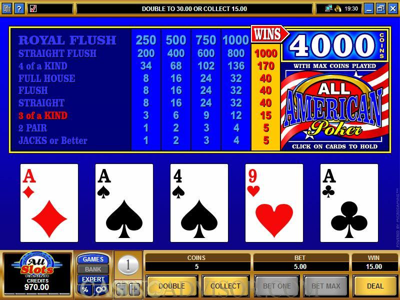 Casino video poker en ligne making a cheap poker table