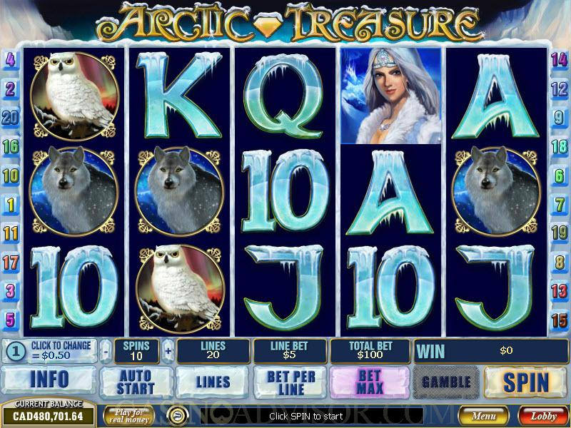 Play Arctic Treasure Online Slots at Casino.com UK