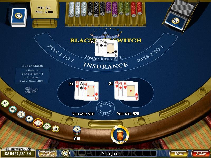 Бесплатные игры казино - блэкджек свич