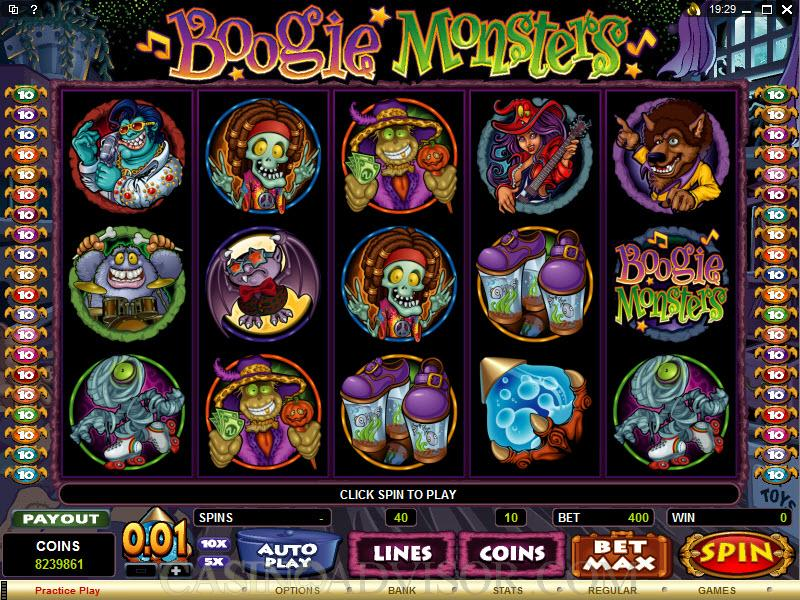Boogie Monsters Slot - Read the Review and Play for Free