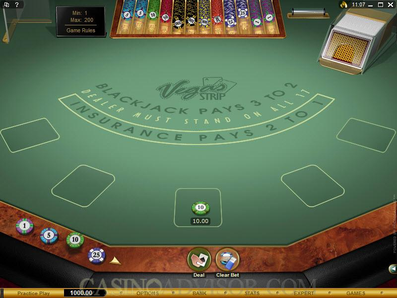 Play vegas strip blackjack secrets of gambling in a casino