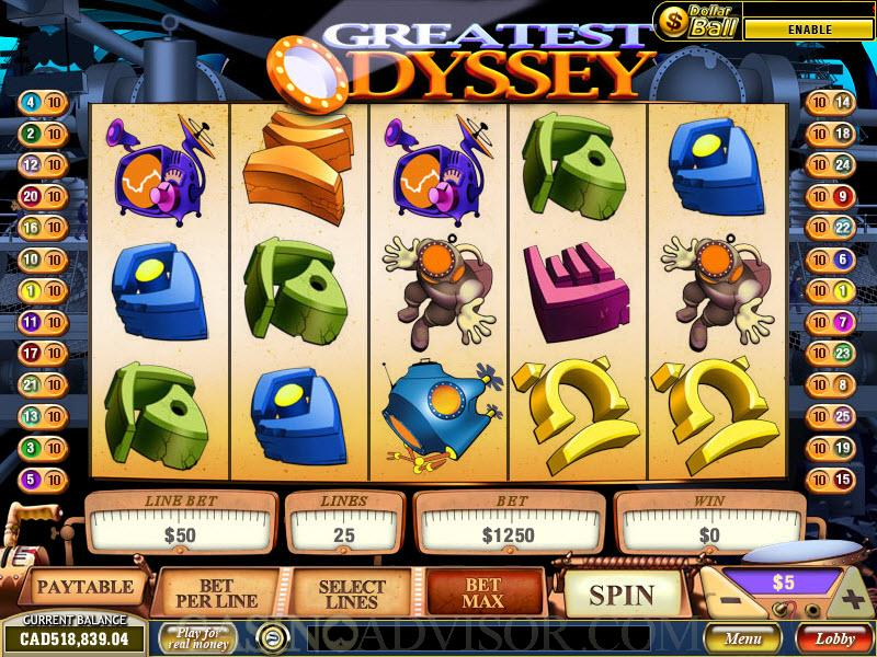 Play Greatest Odyssey Slots Online at Casino.com NZ