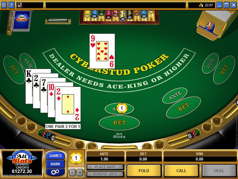 microgaming poker download