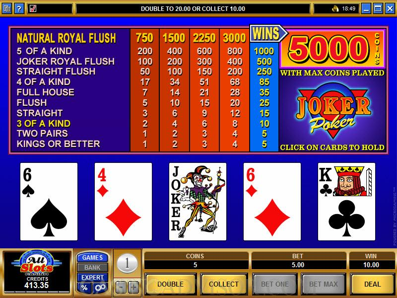 Joker Poker - Play online poker games legally! OnlineCasino Deutschland