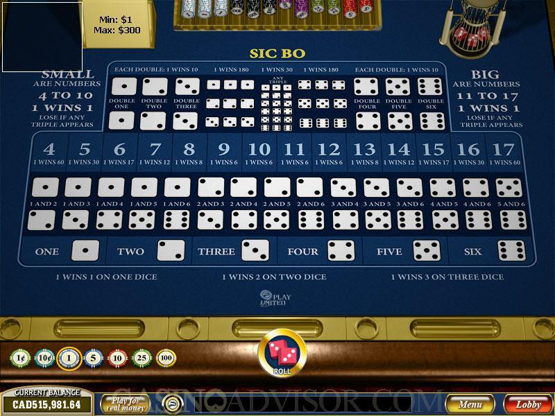 Бесплатные игры казино - сик бо