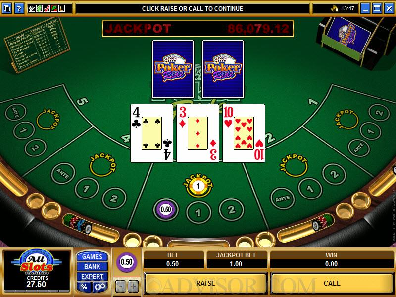 Play Casino Poker Games Online