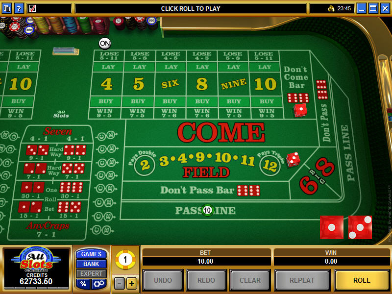 best online craps casino sizing hot
