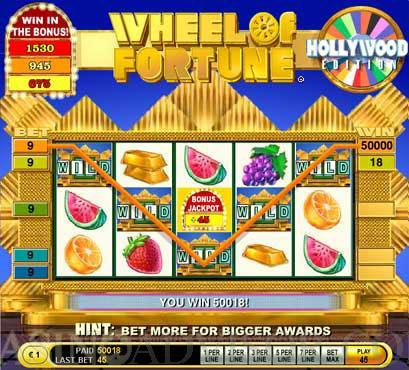 play wheel of fortune slot machine online poker american