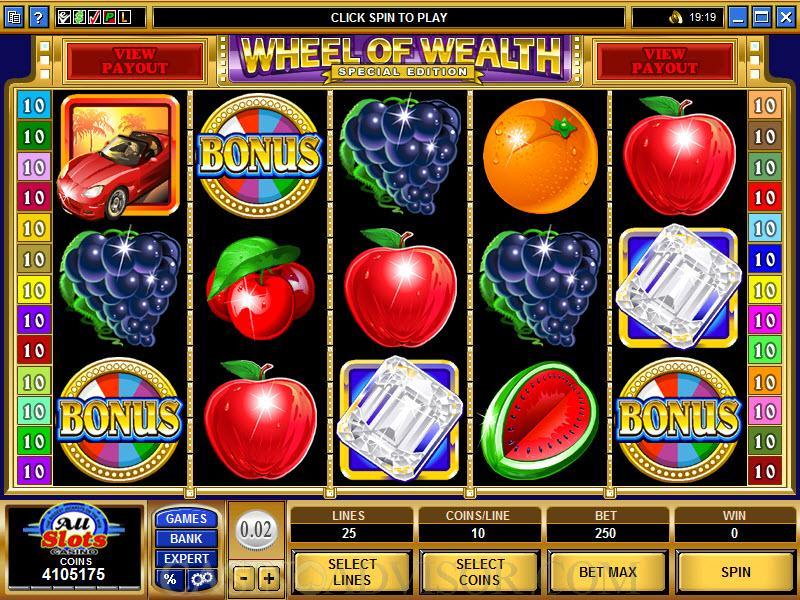No Download Wheel Of Wealth Special Edition Slots