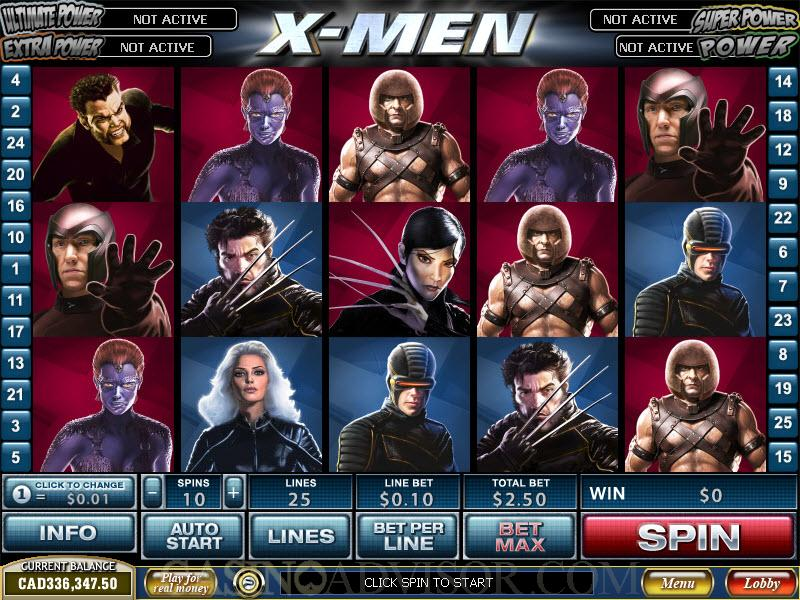 Free Slot Games X Men