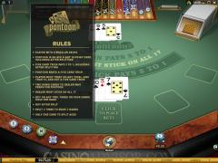 how to play pontoon in a casino