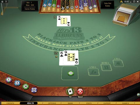 Blackjack hi lo betting