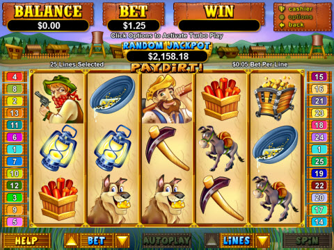 Paydirt Video Slot Preview