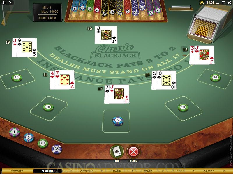 Play Blackjack Ballroom Games