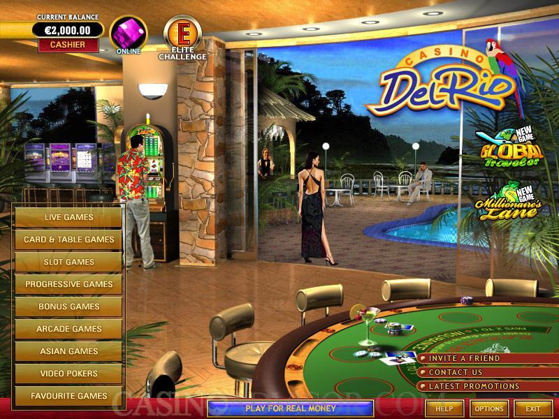 online casino del rio