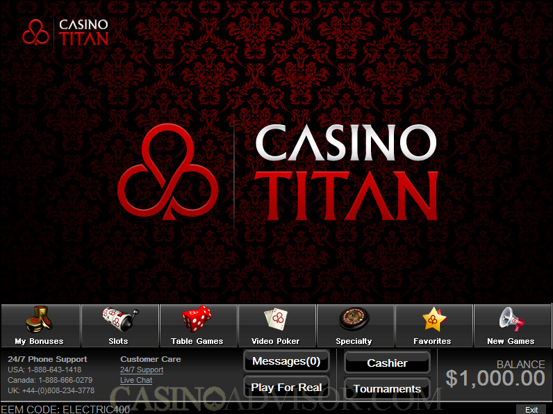 Casino Titan Reviews