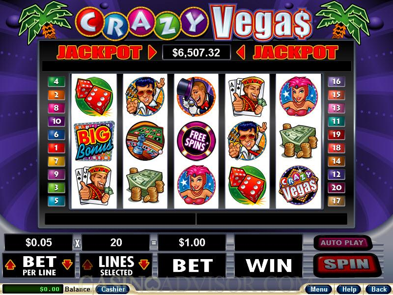 online slot machine games crazy slots casino