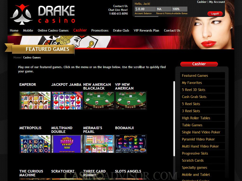 drake casino no deposit bonus dec 2019