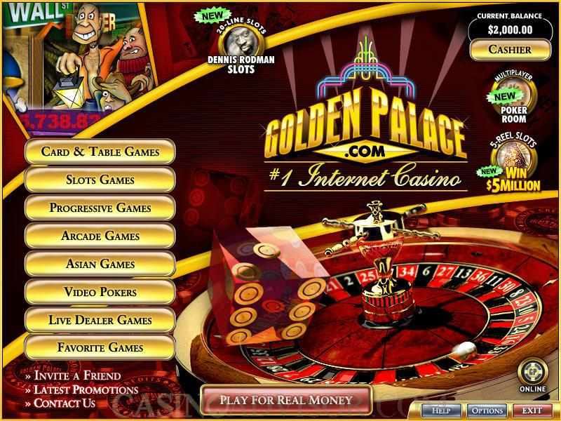 golden palace online casino sizzing hot