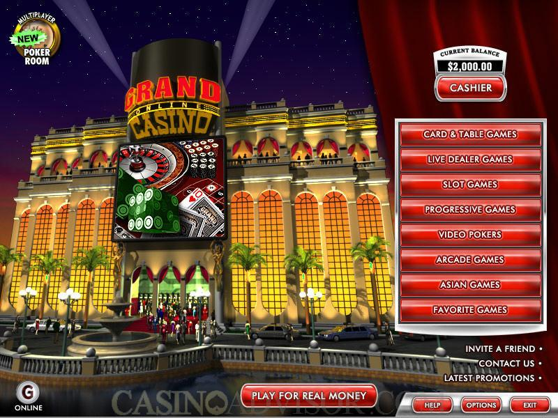 grand online casino casino games