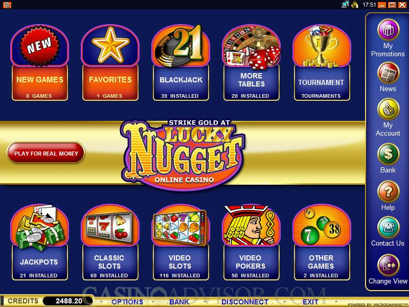 Lucky Nuggets
