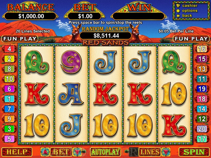 lucky red casino online