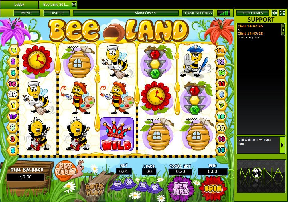 mona casino online