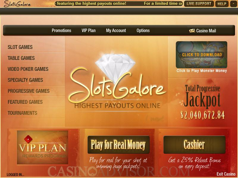 online casino review slizing hot