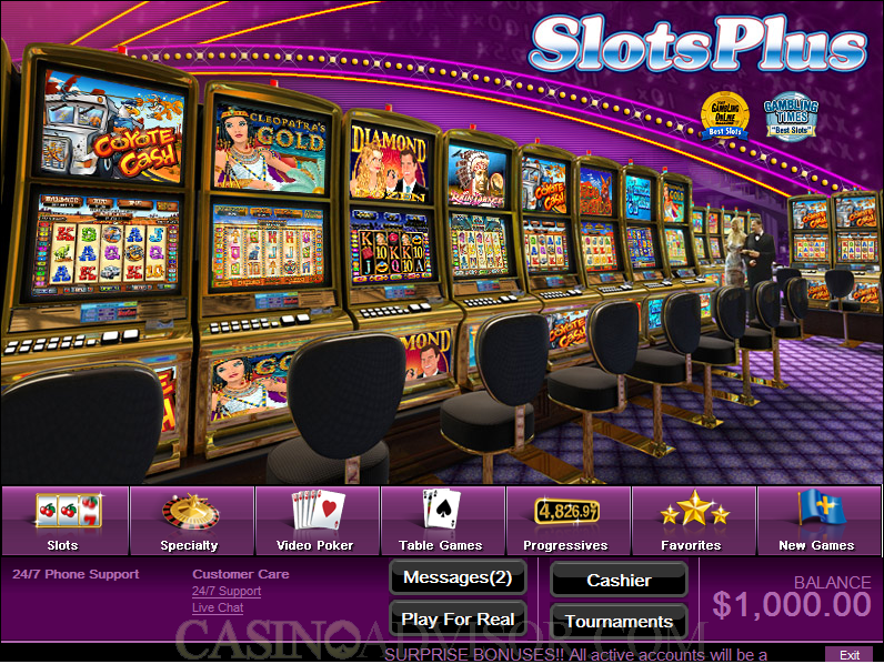 online real casino video slots online