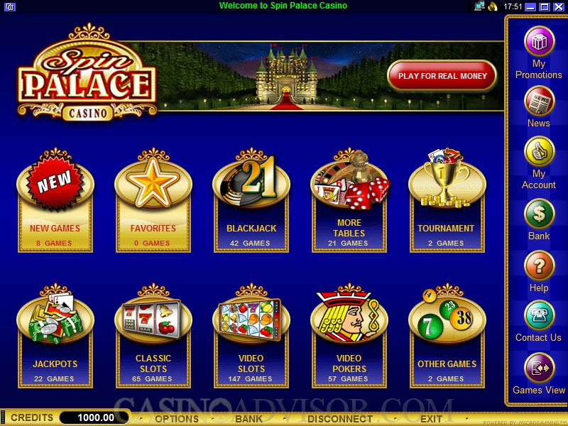 spin palace flash casino