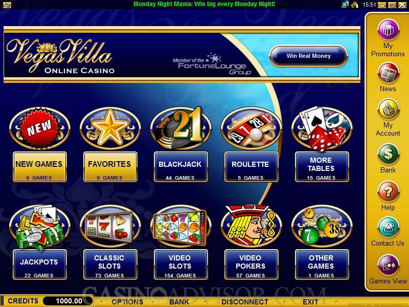 Casino online vegas villa casino el cameno bar austin tx