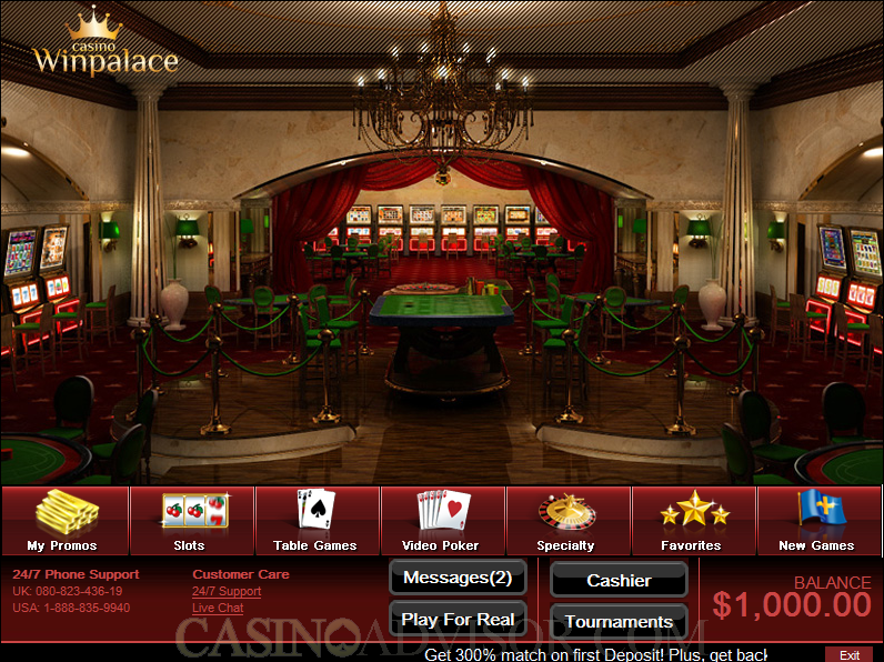 win palace euro casino french