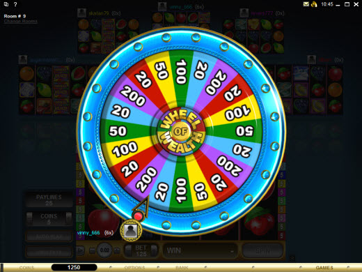casino online book wheel