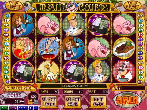 Wizard Gaming Main Course Video Slot